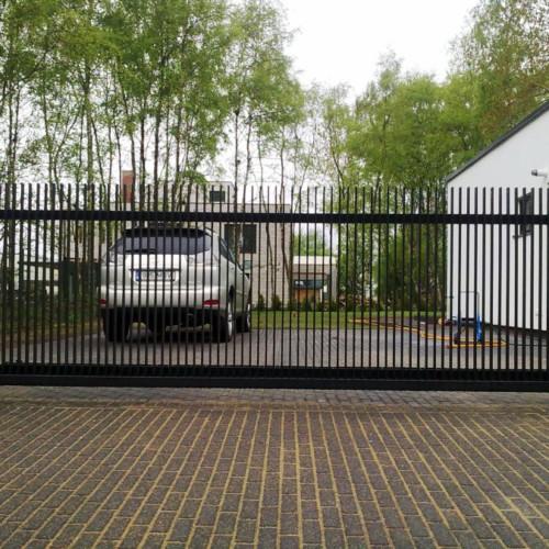 Metallaed, liugvärav, väravaautomaatika
