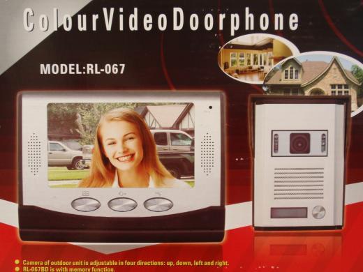 Värviline video-fonosüsteem koos kutsungipaneeliga