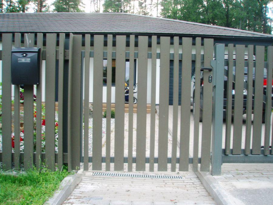 Jalgvärav puitaed väravad