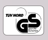 "Our operators are TÜV/GS tested and are monitored by the German Technical Inspection Association (TÜV) at regular intervals. They also correspond to the applicable European provisions (CE mark) for ""Electrical Safety"" and ""Electromagnetic Compatibility""."