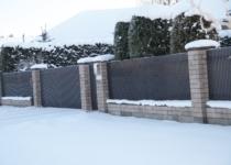Tiibvärav, metallaed, varbtäitega aed, väravaautomaatika
