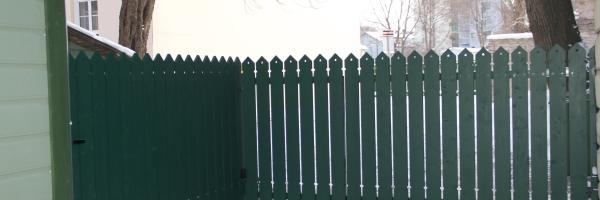 Puitaed, piirdeaed, tiibvärav, väravaautomaatika