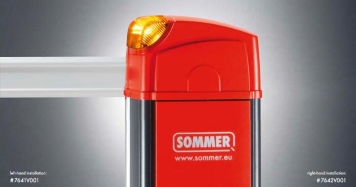 Tõkkepuu SOMMER ASB-6010A
