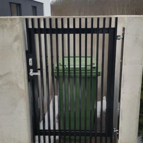 Prügikastile värav