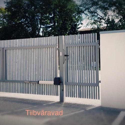 Tiibväravad, puitaed, väravaautomaatika sommer twist 200E