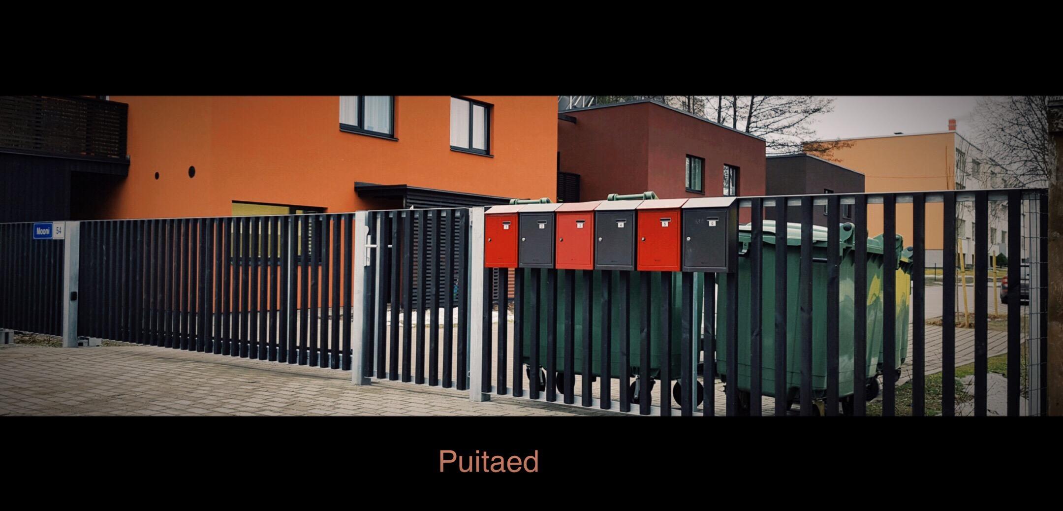 Puitaed, tiibväravad, sommer väravaautomaatika, piirdeaed