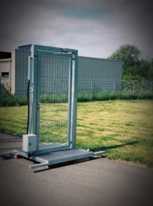 Ajutine värav, teisaldatav värav, mobiilne värav
